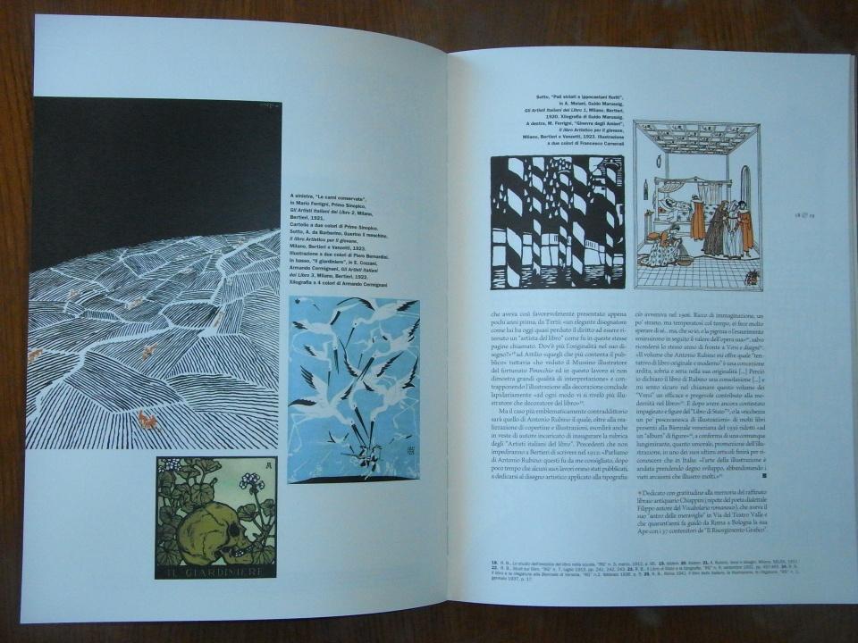 Il catalogo dedicato a Raffaello Bertieri e a Risorgimento Grafico