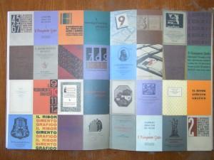 Copertine di Risorgimento Grafico nel libro su Raffaello Bertieri