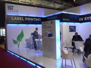 Lo stand IST Metz a Labelexpo 2011