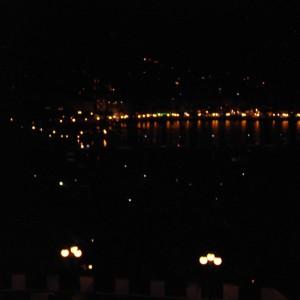 Rapallo in notturna