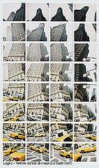 """Maurizio Galimberti """"Yellow Dance"""", mosaico di Polaroid (mese di luglio)"""