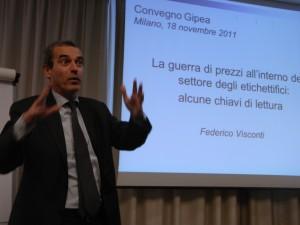 Federico Visconti della SDA Bocconi illustra il tema della guerra dei prezzi