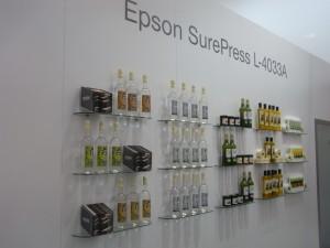 Applicazioni di etichette stampate in digitale con Epson