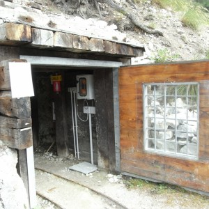 Miniera della Bagnada ingresso