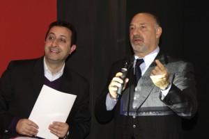 Marco Spada con don Basilio, direttore CNOS-FAP Palermo