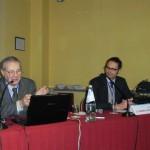 Valter Rocchelli e Domenico Tessera Chiesa al convegno Gipea
