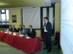 Carlo Carnelli, presidente TAGA Italia, introduce i temi della tavola rotonda