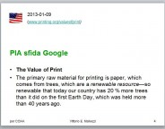 PIA vs Google