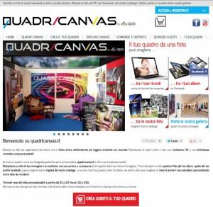 QuadriCanvas il sistema web-to-print messo a punto da Edigit e Grafiche Mardine per la stampa di foto su tela