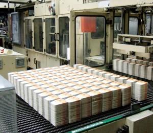I sottobicchieri per birra sono stampati su una Jagenberg flessografica
