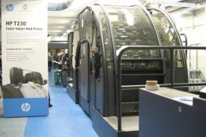 Il sistema di stampa a bobina HP T230 Color Inkjet presso CSQ