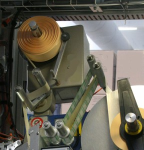 Liner roll in labelling 120815
