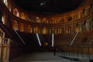 Il teatro Farnese a Parma