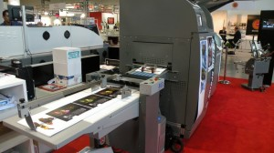 La MGI in fase di stampa