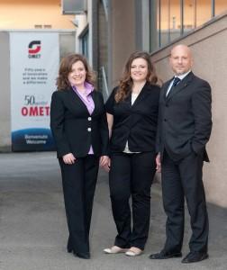 Paola, Raffaella e Antonio Bartesaghi