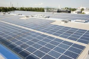 Mediagraf adotta pannelli fotovoltaici per i fabbisogni energetici dello stabilimento
