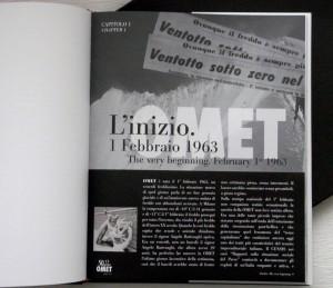 La prima pagina della monografia