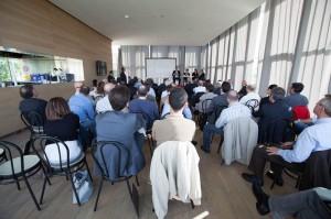 Una settantina di imprenditori h partecipato al dibattito sullo stato di salute del comparto grafico cartotecnico