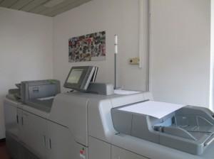 La nuova macchina digitale Ricoh installata presso Moglia