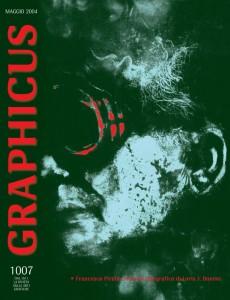 Francesco Pirella, ritratto E-Tipografico per Loris J. Bononi, 2004