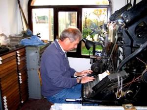 Giorgio Coraglia alla tastiera