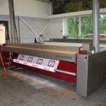 La macchina per il finissaggio del tessuto stampato