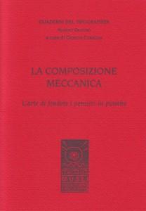 """Copertina del primo """"Quaderno del Tipografista"""" pubblicato"""