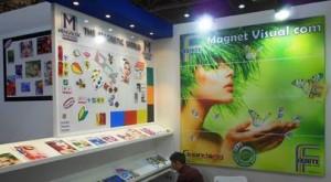 La parete Magnet Visual Com di Guandong in Fespa
