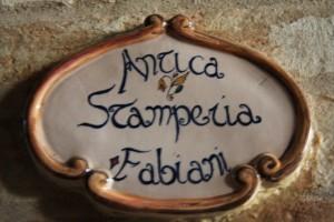 Antica Stamperia Fabiani674