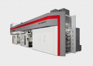 La macchina flessografica Bobst F&K 20SIX