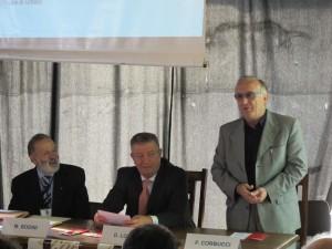 Saluto del Sindaco di Urbino Corbucci, del Senatore Londei e del presidente AIMSC MauroBodini