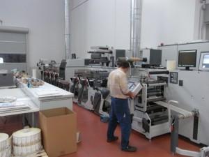 La XFlex-6 di Omet al lavoro