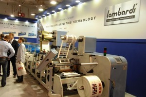 The new flexo rotary Lombardi introduced at Labelexpo