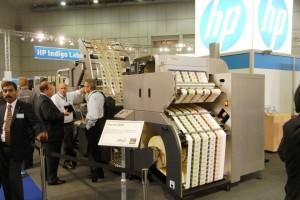 """Erano 55 i produttori che offrivano soluzioni per la stampa digitale, creando ciò che qualcuno ha detto """"un po' di confusione"""".Tra questi hp faceva la parte del leone con macchine dedicate alle etichette e al packaging"""