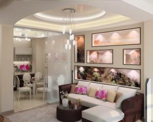Interior design by inkjet print
