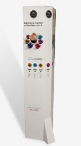 Il totem premiato alla terza edizione di DIVA – Display Italia Viscom Award, consegnato durante Viscom Italy 2013