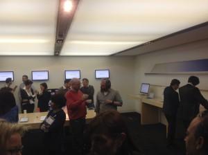 L'incontro delle scuole grafiche presso la sede londinese di Apple