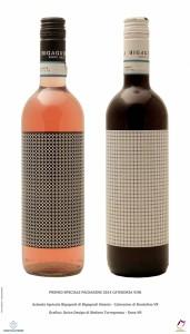 Premio Speciale Packaging per vini rosati
