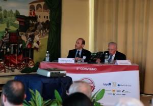 Sante Conselvan ed Emilio Gerboni aprono il Convegno