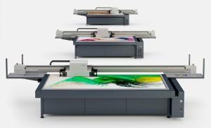 La famiglia delle stampanti Nyala swissQprint