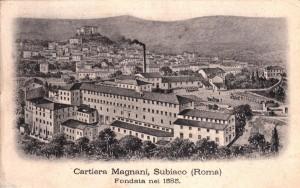 Un'immagine storica della Cartiera Magnani