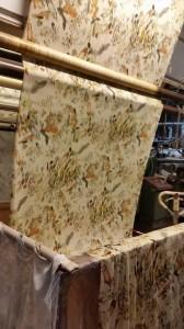 Fase di lavaggio nello stabilimento di Govone