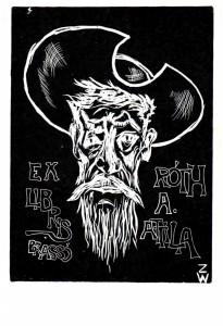Zweriew Wjatschelaw (RUS) – 1982, Linoleumgrafia (X3)