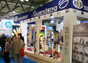 Lo stand Guandong al VIscom 2015