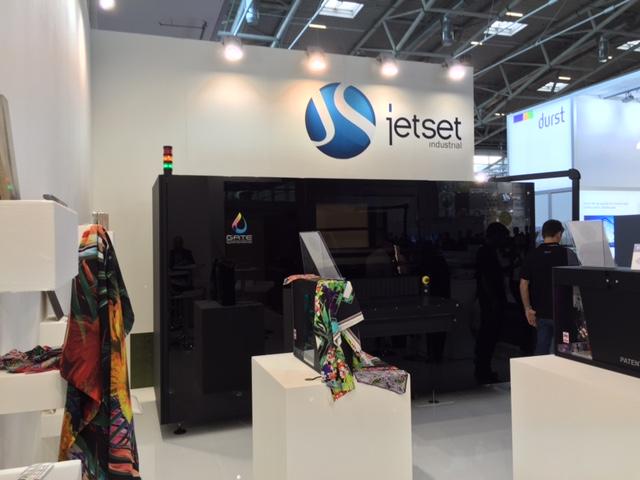 JetSet si è presentata per la prima volta col proprio marchio a InPrint di Monaco