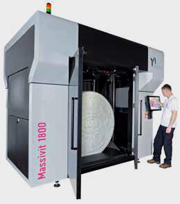 La nuova Massivit per la stampa 3D di grande formato