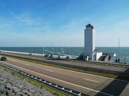 a metà lungo la Afsluitsdijk