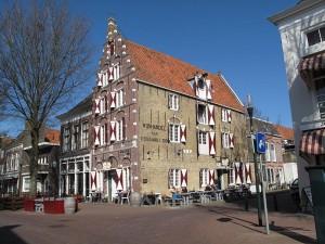 Il centro di Harlingen