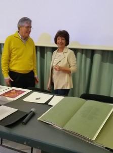Carlo Tommasi illustra le caratteristiche del fotopolimero