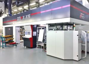 La Uteco Onyx XS utilizzata per i test sulle nuove lastre Asahi